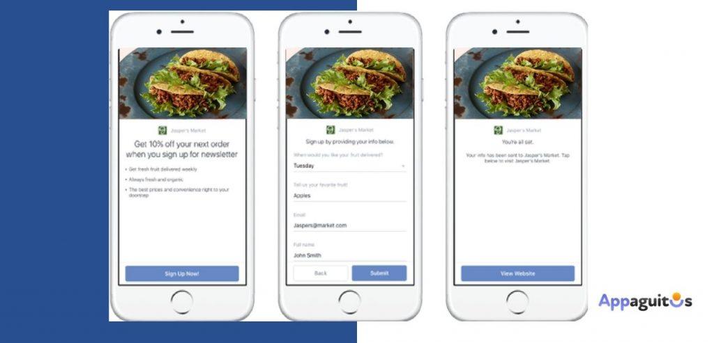 Anuncios de facebook leads